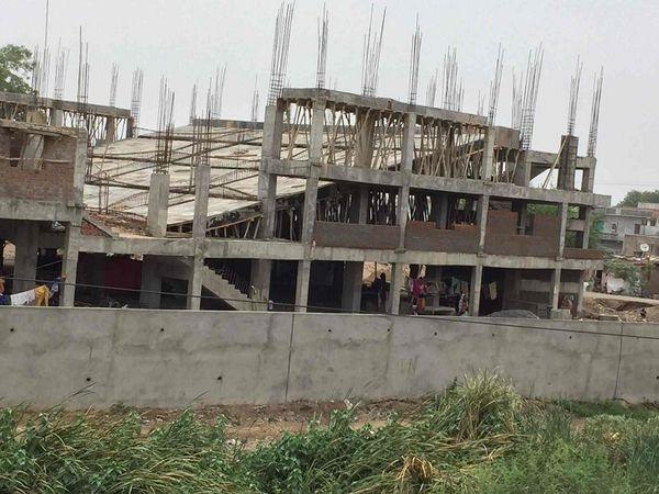 अधिकांश निर्माण स्थलों पर काम ठप है या धीमा (फाइल फोटो)।