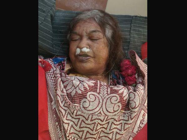 મૃતક વૃદ્ધાની તસવીર - Divya Bhaskar