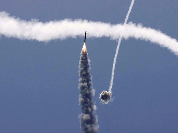 2014 के युद्ध के दौरान, हमास ने 50 दिनों में 4,000 से अधिक रॉकेट दागे थे।