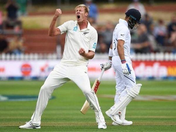 जेम्स ने भारत के खिलाफ पिछली सीरीज के 2 मैचों में 9 विकेट लिए थे।