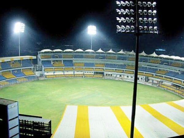 इंदौर का होल्कर स्टेडियम।