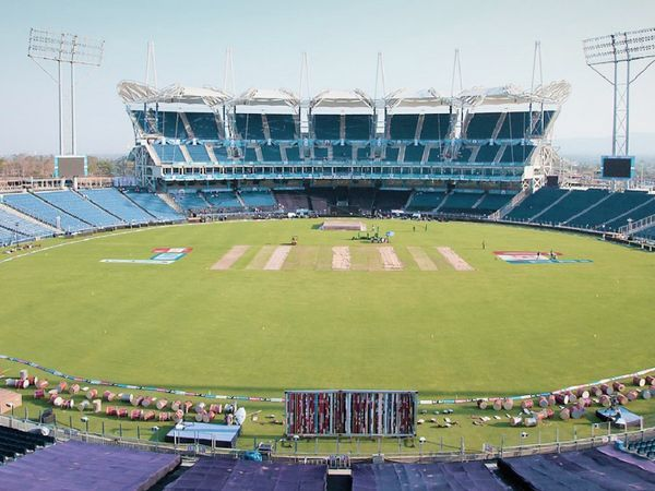 पुणे में एमसीए क्रिकेट स्टेडियम।