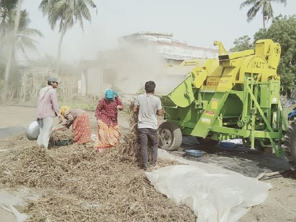किसानों को खेतिहर मजदूर मिलना भी मुश्किल हो रहा है (फाइल फोटो)।