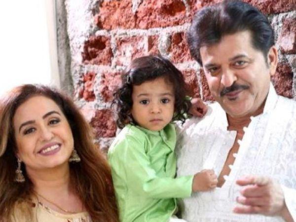 पत्नी संजना और बेटे वनराजी के साथ राजेश खट्टर