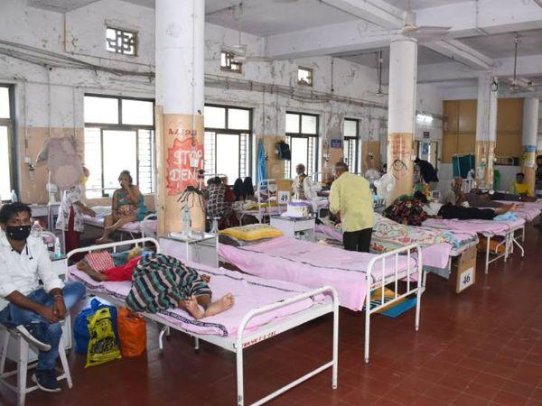 મ્યુકોરમાઇકોસિસમાં ઘનાઢ્ય વર્ગની સિવિલ હોસ્પિટલમાં સારવારને પ્રાથમિક પંસદગી