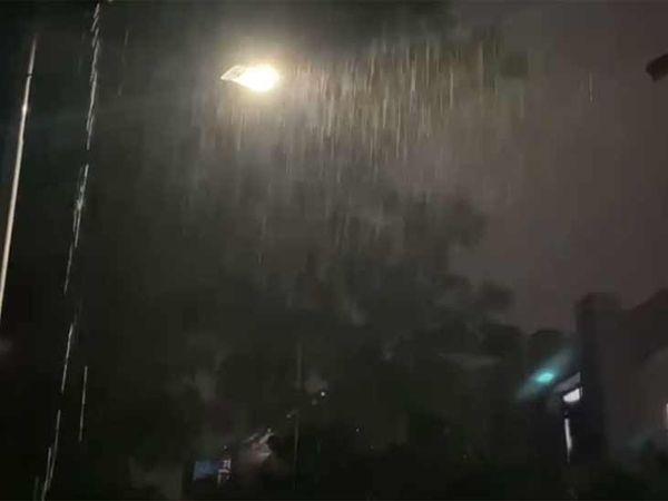 ઘાટલોડિયામાં વરસાદ