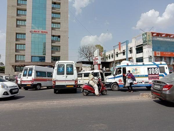 અત્યાર સુધીમાં રોજના 472 દર્દીઓને 108 દ્વારા શિફ્ટ કરવામાં આવ્યા છે