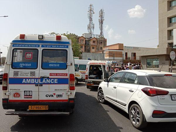 હાલમાં જુન માસમાં બે દિવસમાં 366 કોરોનાના દર્દીઓ 108માં આવ્યા હતા