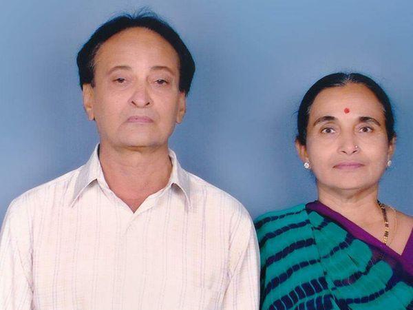 પ્રેમ લગ્ન હતા, સાથે જીવ્યા, એકજ દિવસે મૃત્યુ - Divya Bhaskar