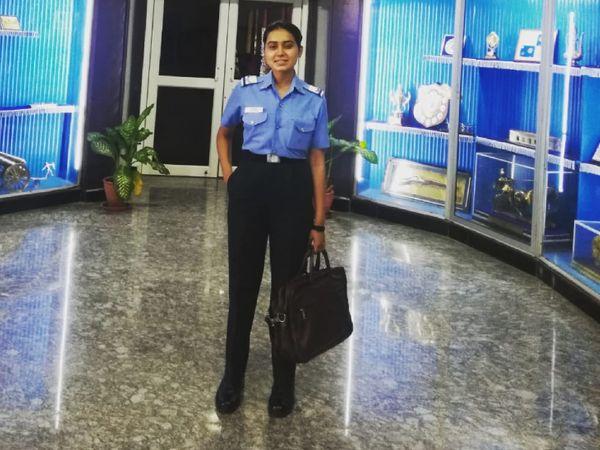 જાન્યુઆરી 2020માં ટૂટૂની પસંદગી એરફોર્સ માટે થઈ. તેમની ટ્રેનિંગ હૈદરાબાદની એરફોર્સ એકેડમીમાં ચાલી રહી હતી. - Divya Bhaskar