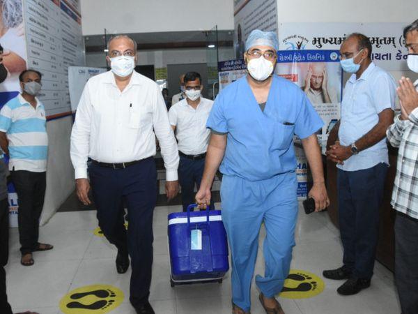 સુરતથી મુંબઈનું 300 કિ.મીનું અંતર 100 મીનીટમાં કાપીને હૃદયનું ટ્રાન્સપ્લાન્ટ કરાયું
