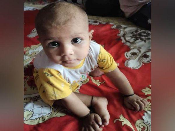 ટબમાં ડૂબેલી 11 મહિનાની બાળકીનો ફાઈલ ફોટો - Divya Bhaskar