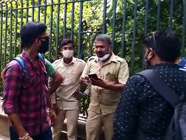 પોલીસે અકસ્માતનો ગુનો નોંધીને કાયદેસરની કાર્યવાહી હાથ ધરી