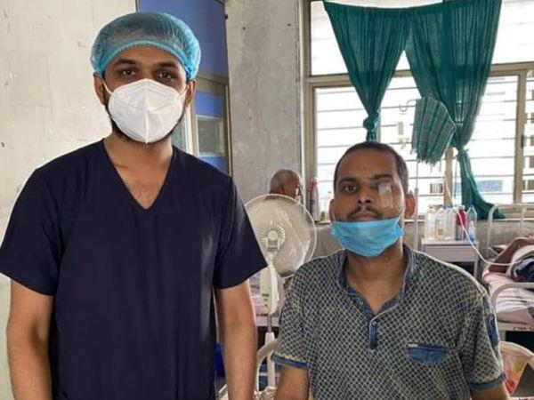 બિહારના વ્યક્તિને અમદાવાદ સિવિલમાં નવજીવન મળ્યું - Divya Bhaskar