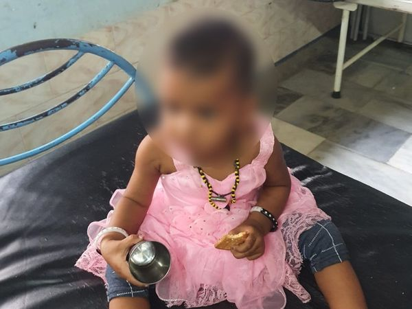 તરછોડાયેલી બાળકીની તસવીર - Divya Bhaskar