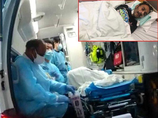 જાપાનથી હોસ્પિટલથી સ્વદેશ ભારત પરત આવવા જયેશને  ડિસ્ચાર્જ કરાયો. - Divya Bhaskar