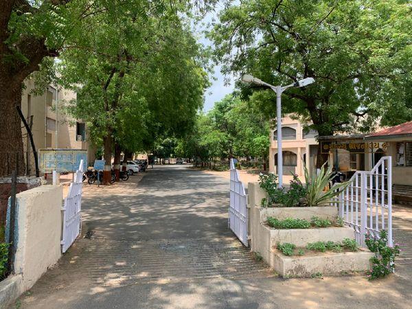 ગાંધીનગર MLA ક્વાર્ટર - Divya Bhaskar