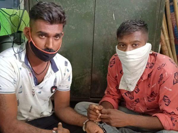 તવેરામાં લઇ જવાતો વિદેશી દારૂ અને ઇસમોેને પોલીસે ઝડપ્યા. - Divya Bhaskar