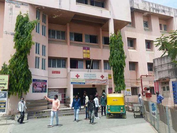 ધોરાજી સરકારી હોસ્પિટલ - Divya Bhaskar