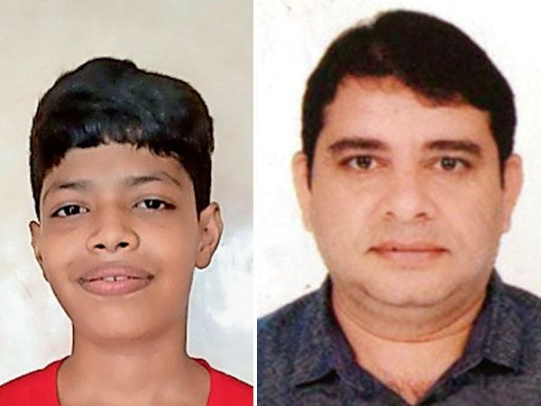 વ્રજ નીરજ દેસાઈ, છાત્ર, સંસ્કારભારતી શાળા પ્રિતેશ ગજેરા, આચાર્ય, સંસ્કારભારતી શાળા, નવસારી - Divya Bhaskar