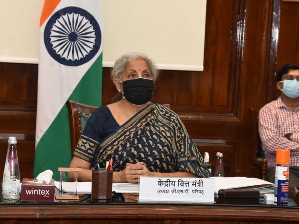 GST કાઉન્સિલની 44મી બેઠકમાં નાણાં મંત્રી નિર્મલા સીતારમણ પણ સામેલ થયા - Divya Bhaskar