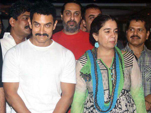 रीना ने 'लगान' के निर्माण में आमिर की मदद की