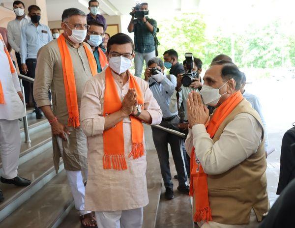 ગુજરાત ભાજપના પ્રભારી અને સાંસદ ભૂપેન્દ્ર યાદવ ગુજરાત પ્રવાસે
