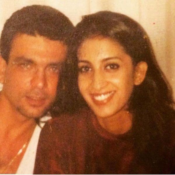 पारसी एंटरप्रेन्योर जुबिन ईरानी से शादी की।