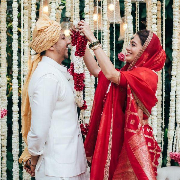 दीया ने बिजनेसमैन वैभव रेखी के साथ दूसरी शादी की है।