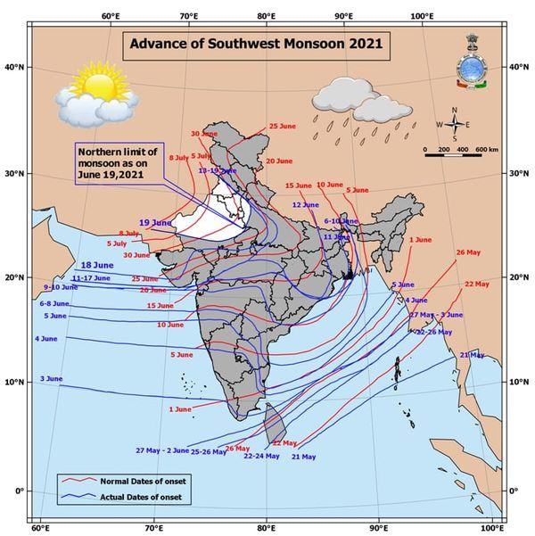 ગુજરાતમાં ચોમાસાનું વહેલા આગમન થયું