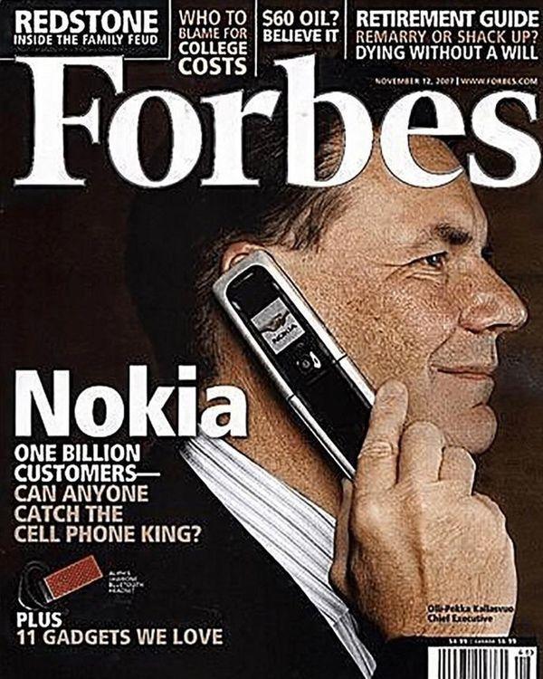 फोर्ब्स मैगजीन का नवंबर 2007 का कवर पेज। - फोटो साभार फोर्ब्स