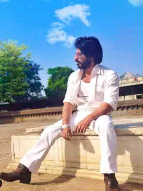 शाहरुख की फिल्म 'रईस' के गेटअप में इब्राहिम कादरी