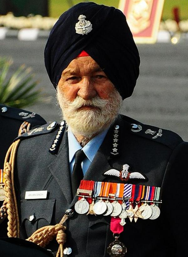 भारतीय वायु सेना के सबसे वरिष्ठ मार्शल रहे अर्जन सिंह का जन्म 16 अप्रैल 1919 को हुआ।