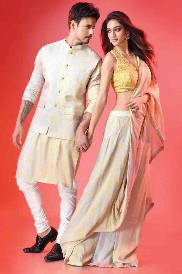 नुसरत फरवरी 2021 में रिलीज हुई बंगाली फिल्म 'डिक्शनरी' में नजर आई थीं।