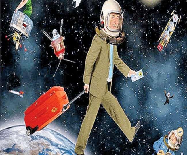 ब्रैनसन की कंपनी 2022 से हर हफ्ते लोगों को अंतरिक्ष में ले जाने की तैयारी कर रही है।