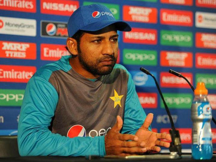 पाकिस्तान के कप्तान सरफराज अहमद। - Dainik Bhaskar