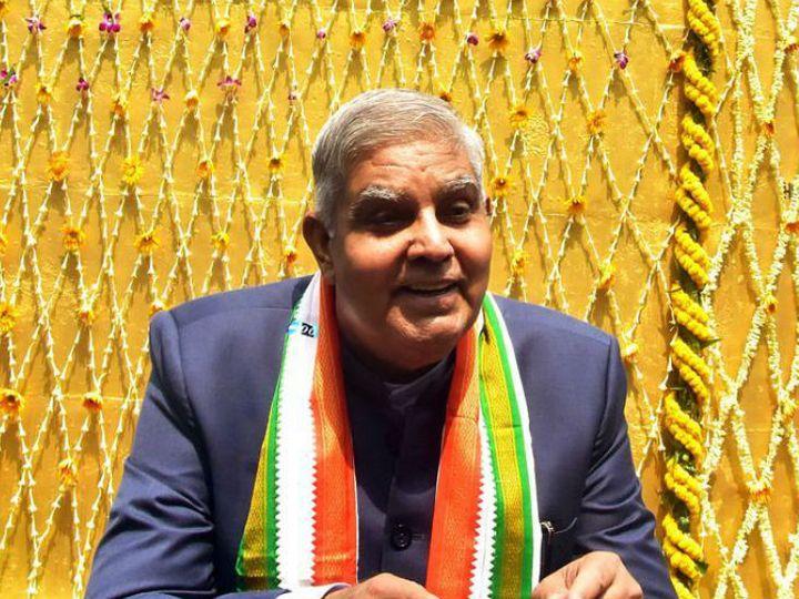 पश्चिम बंगाल के राज्यपाल जगदीप धनखड़। - Dainik Bhaskar