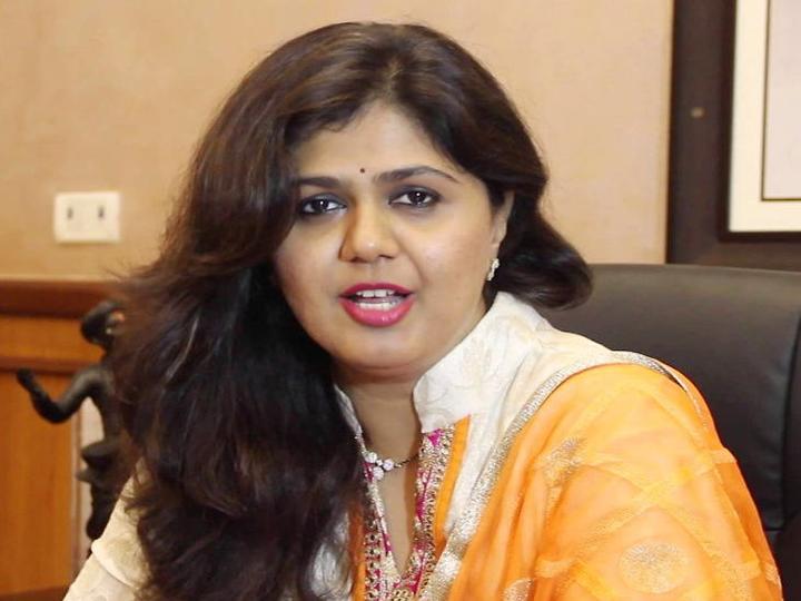 पंकजा मुंडे पूर्व भाजपा नेता गोपीनाथ मुंडे की बेटी हैं। -फाइल फोटो - Dainik Bhaskar