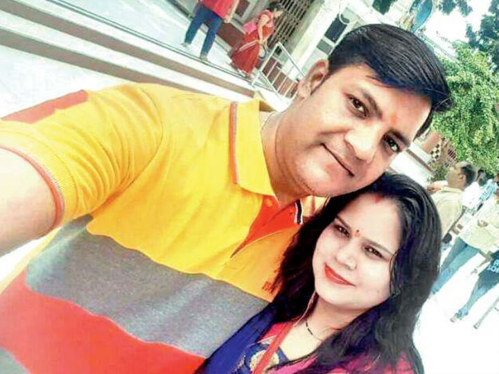 पुलिस ने बताया कि अमितेष अपनी पत्नी शिवानी से पिछले 7 साल से बन नहीं रही थी।-फाइल - Dainik Bhaskar
