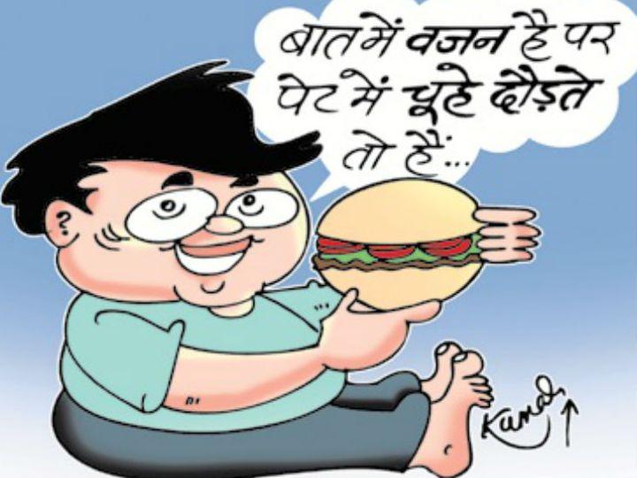 फूड पैकेट पर लेबलिंग का मकसद- गलत खानपान की आदत से बचाना है। - Dainik Bhaskar
