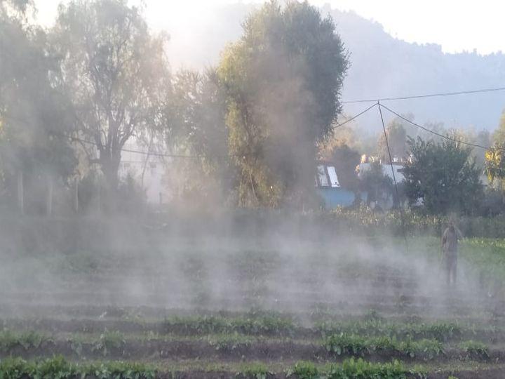 राजधानी भोपाल समेत प्रदेश के कई शहर कड़ाके की ठंड से ठिठुर रहे हैं। - Dainik Bhaskar