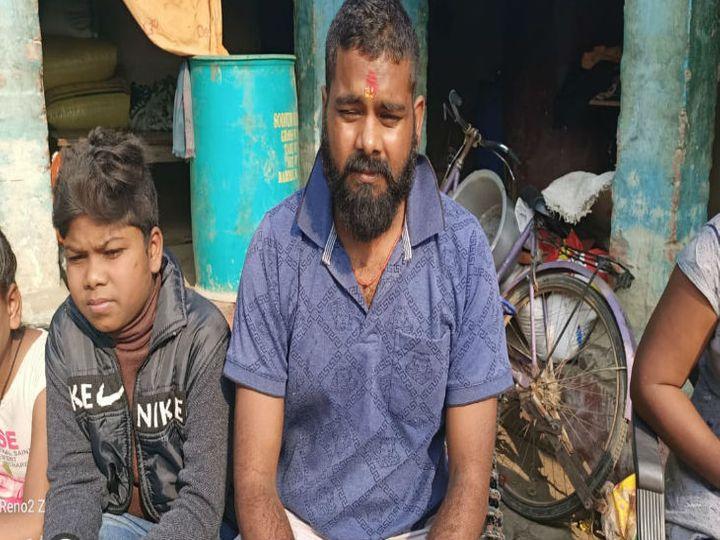 19 दिन बाद घर लौटे रामसुंदर - Dainik Bhaskar