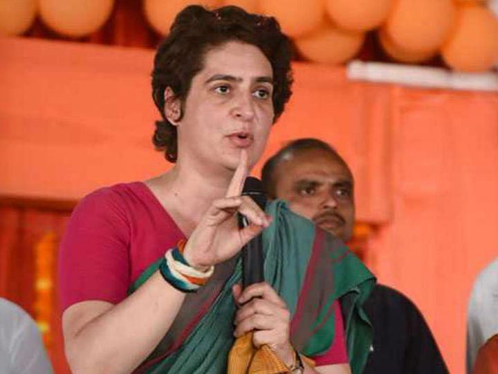 कांग्रेस की राष्ट्रीय महासचिव प्रियंका गांधी (फाइल फोटो) - Dainik Bhaskar