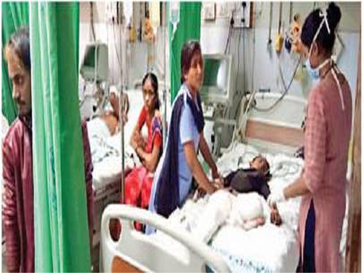 बहन के घर गया था इमाम शेख, उधना में हादसे से गवां दिए पैर - Dainik Bhaskar