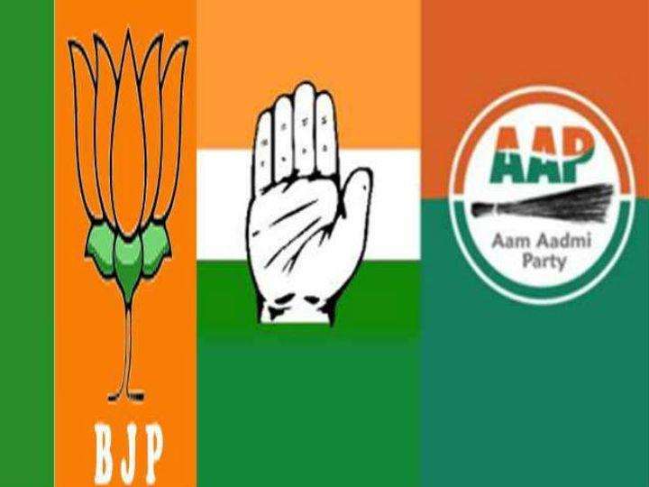 महिला उम्मीदवारों पर सबसे ज्यादा कांग्रेस ने भरोसा जताया है। - Dainik Bhaskar