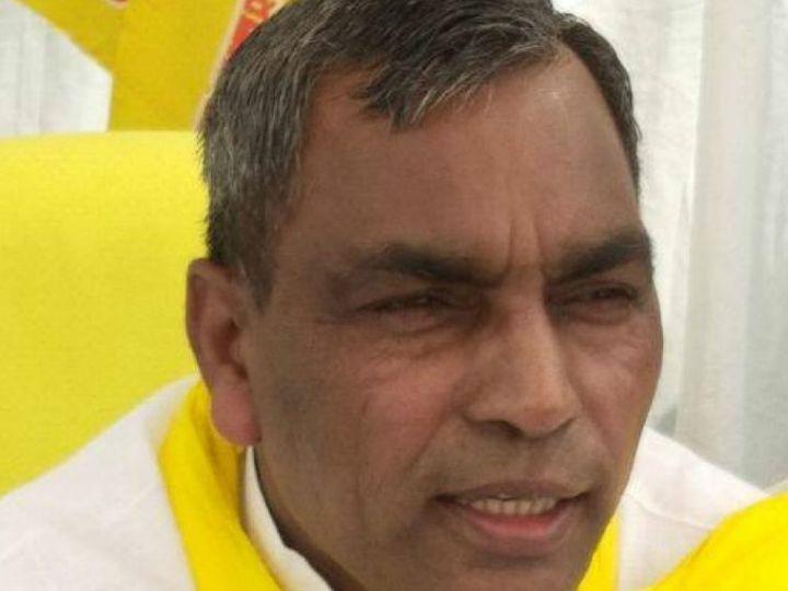 पूर्व कैबिनेट मंत्री ओम प्रकाश राजभर। -फाइल - Dainik Bhaskar