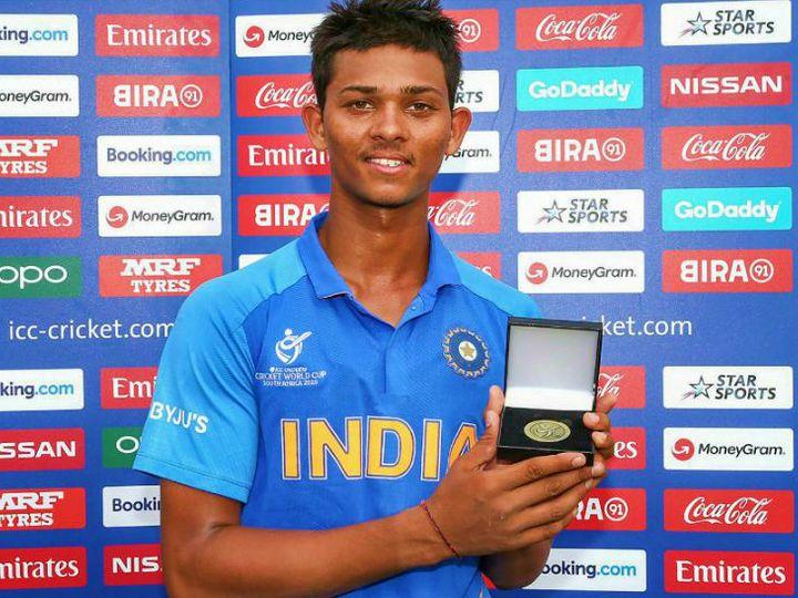 जयसवाल ने अंडर 19 वर्ल्ड कप में कुल 400 रन बनाए। इनमें चार अर्धशतक और एक नाबाद शतक शामिल है। - Dainik Bhaskar