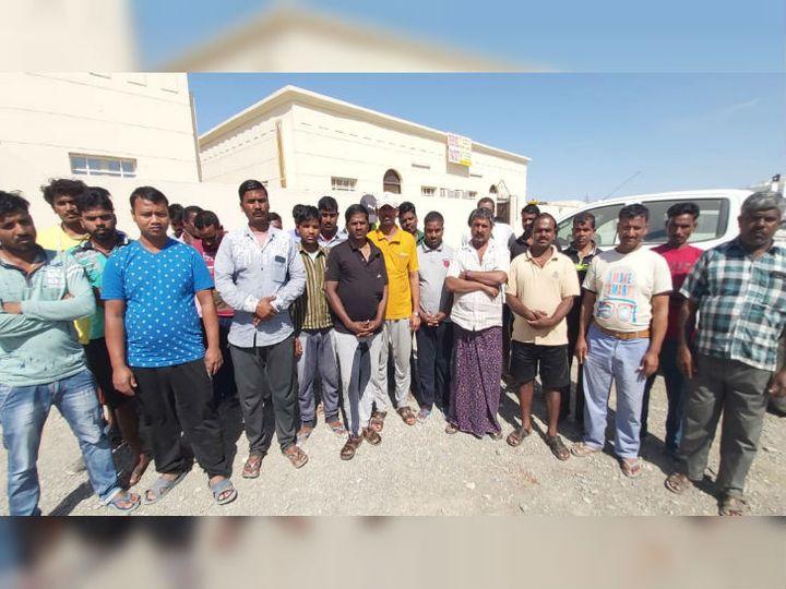 परिजन का आरोप- मजदूरों को बंधक बनाकर रखा गया है। - Dainik Bhaskar