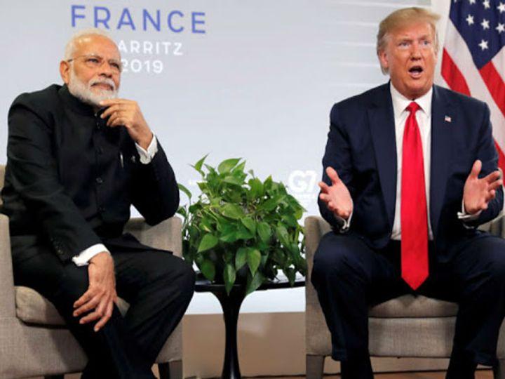 रिपोर्ट्स में दावा- भारत और अमेरिका ट्रेड डील से पहले व्यापारिक समझौते की तरफ बढ़ रहे। - Dainik Bhaskar