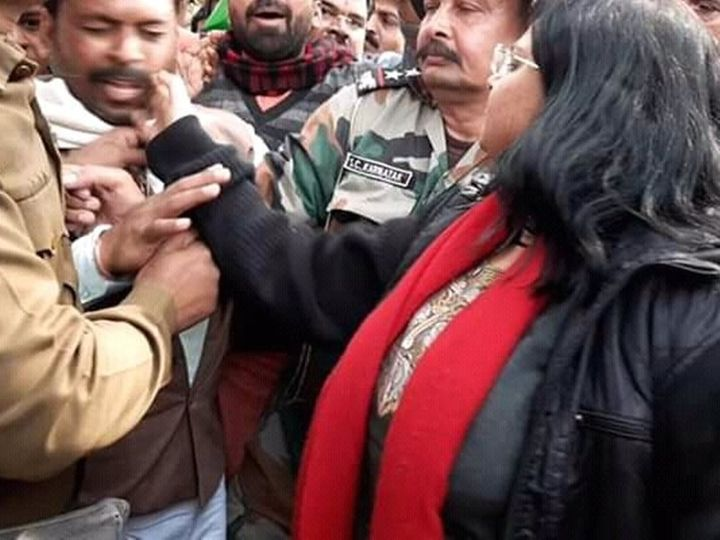राजगढ़ कलेक्टर रहते हुए निधि निवेदिता ने भाजपा कार्यकर्ता को थप्पड़ मार दिया था। - फाइल - Dainik Bhaskar